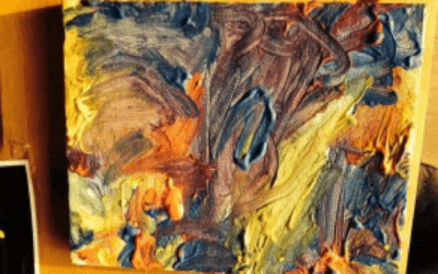 Walter's Painting; flow and celebrating creativity